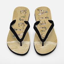 Alana Seashells Flip Flops
