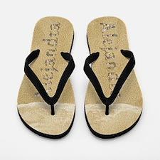 Alejandra Seashells Flip Flops