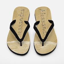 Alessandra Seashells Flip Flops