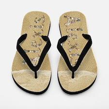 Alexis Seashells Flip Flops