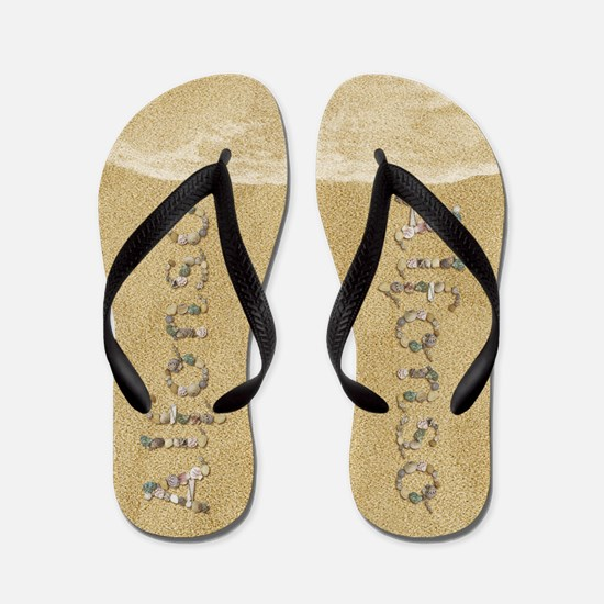 Alfonso Seashells Flip Flops