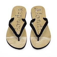 Alondra Seashells Flip Flops