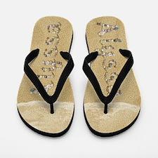 Alyssa Seashells Flip Flops