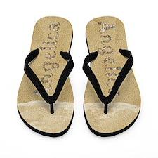 Angelica Seashells Flip Flops