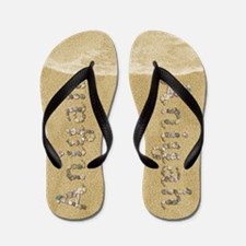 Aniyah Seashells Flip Flops