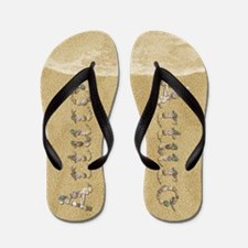 Arturo Seashells Flip Flops