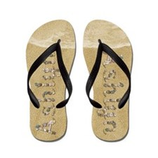 Ashlyn Seashells Flip Flops