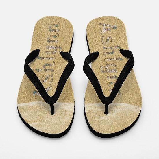 Ashlynn Seashells Flip Flops