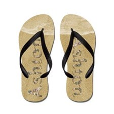 Ashton Seashells Flip Flops