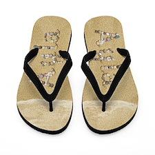 Ayla Seashells Flip Flops
