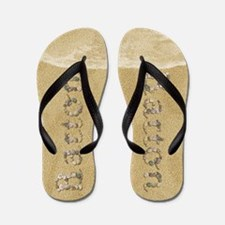 Barton Seashells Flip Flops