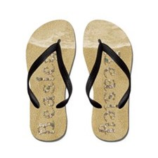 Beasley Seashells Flip Flops