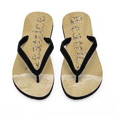 Beatrice Seashells Flip Flops