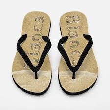 Bianca Seashells Flip Flops