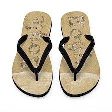 Boyle Seashells Flip Flops
