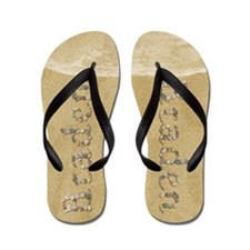 Braden Seashells Flip Flops