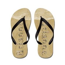 Brianne Seashells Flip Flops