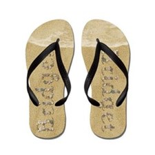 Bridget Seashells Flip Flops