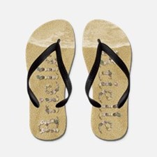 Brielle Seashells Flip Flops
