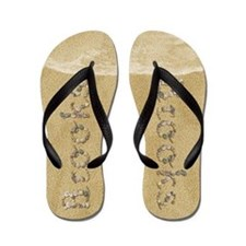 Brooks Seashells Flip Flops