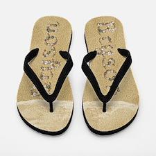 Bryson Seashells Flip Flops