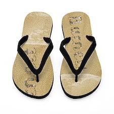 Burnett Seashells Flip Flops