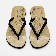 Cara Seashells Flip Flops