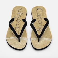 Carolyn Seashells Flip Flops
