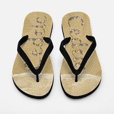 Cedric Seashells Flip Flops