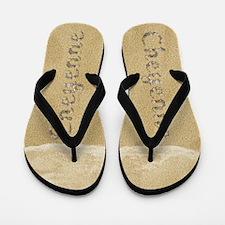 Cheyenne Seashells Flip Flops