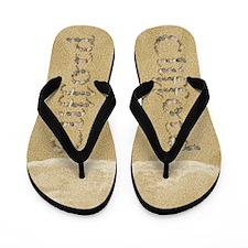 Clifford Seashells Flip Flops