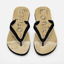 Conley Seashells Flip Flops