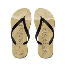 Cristian Seashells Flip Flops