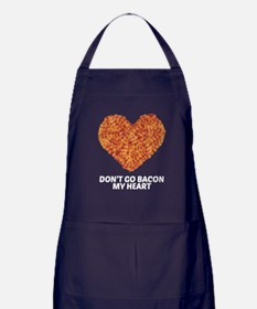 Don't Go Bacon My Heart Apron (dark)