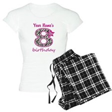 8th Birthday - Personalized Pajamas