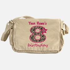 8th Birthday - Personalized Messenger Bag