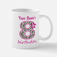8th Birthday - Personalized Mugs