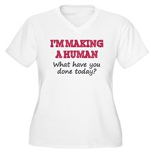 I'm Making A Human Plus Size T-Shirt