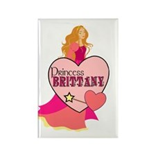 Princess Brittany Rectangle Magnet