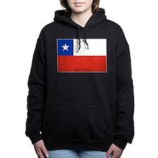 Chile Flag Women's Hooded Sweatshirt