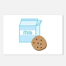 Cookie & Milk Postcards (Package of 8)