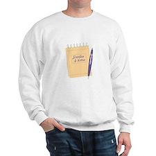 Doodles & Notes Sweatshirt