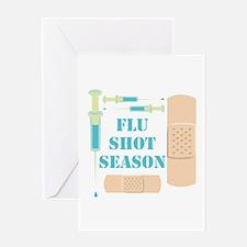 Flu Shot Greeting Cards