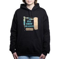 Flu Shot Women's Hooded Sweatshirt