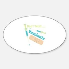 Vaccinate Decal