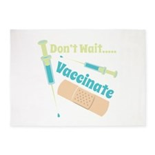 Vaccinate 5'x7'Area Rug