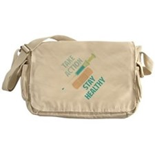 Stay Healthy Messenger Bag