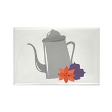 Silver Teapot Magnets