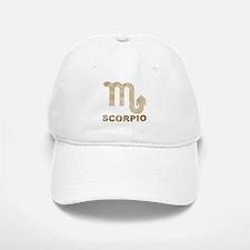 Vintage Scorpio Baseball Baseball Cap