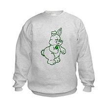Green Easter Bunny Sweatshirt